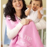 Mom and baby with girls pink personalized baby blanket gifts. Free shipping