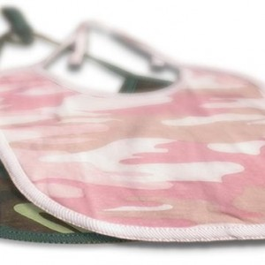 Boys and girls camo-bibs. camouflage print for your little Duck Dynasty duck hunter