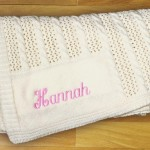 Personalized Cashmere Baby Blankets- best value on the internet.