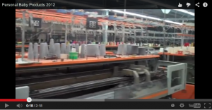 Personalized baby products, made in the USA video of production process
