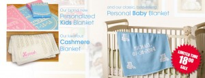 personalized baby blanket sale