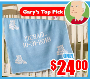 personalized baby blankets- great unique gift for birthday, holidays and baby showers