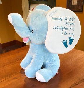SuperSoft™ personalized stuffed animals: Stuffed elephant