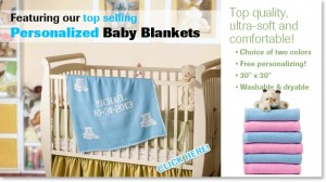 personalized baby blankets - gifts and presents for kids and babies