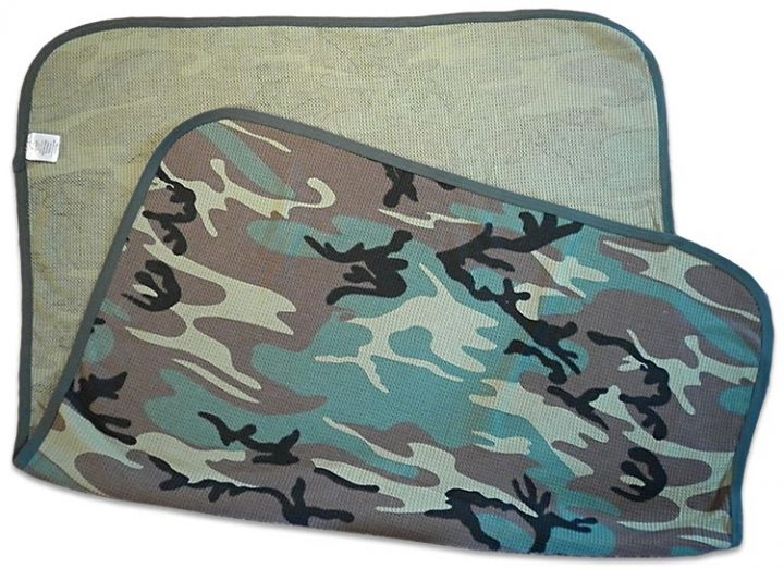 Boys green camo-blanket. camouflage print for your baby Duck Dynasty duck hunter