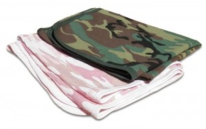 Boys and girls camo-blanket. camouflage print for your baby Duck Dynasty duck hunter