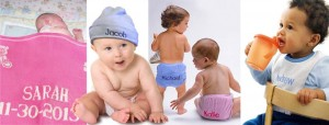 Customized baby presents