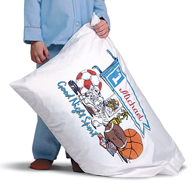 pillow art, sports. pillow art. Personalized pillow cases for boys and girls