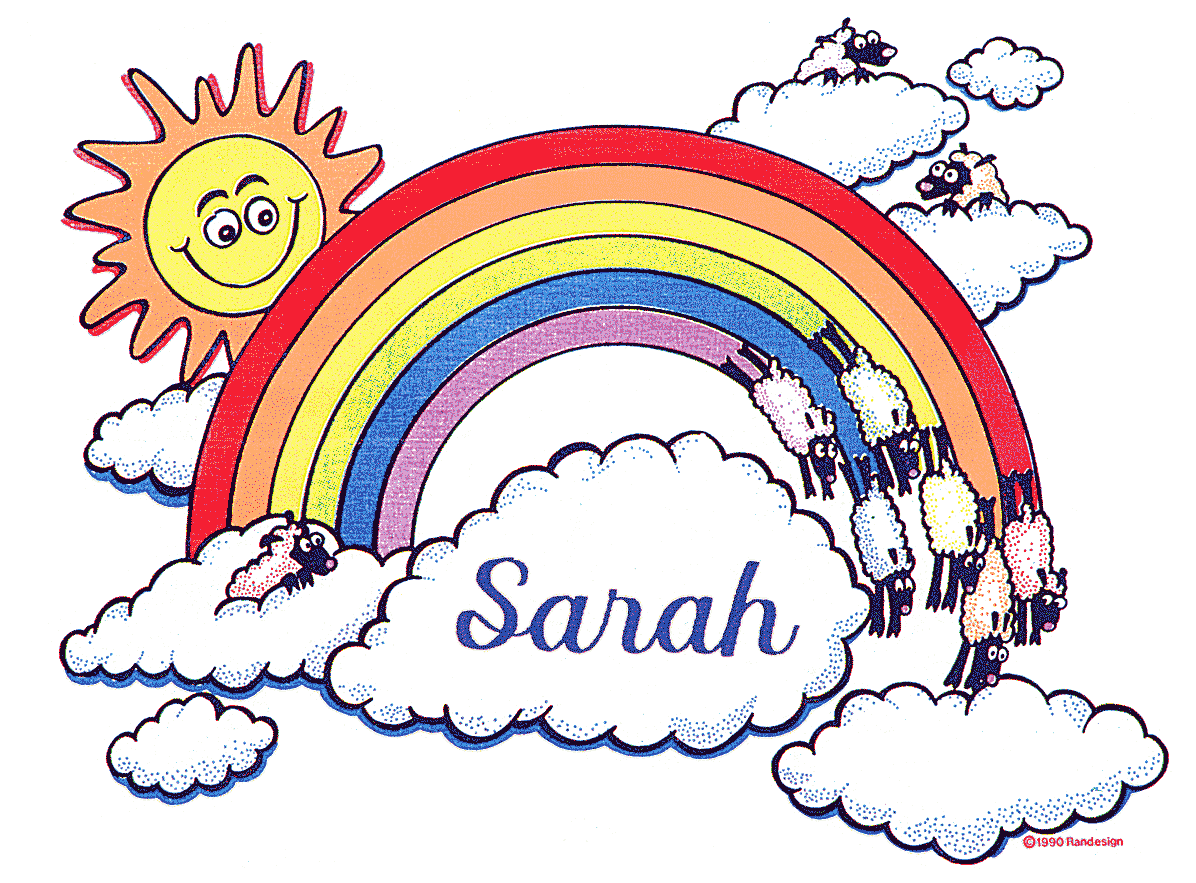 Sun and rainbow, pillow art. Personalized pillow cases for boys and girls