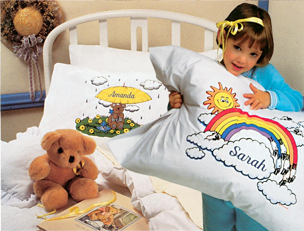 Personalized pillow cases for boys and girls