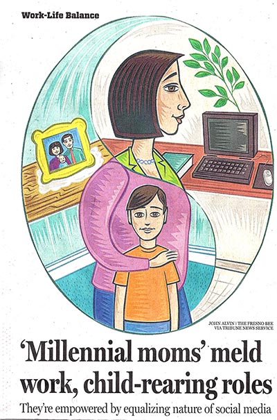 Tech-Savvy Millennial Moms