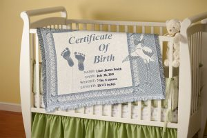 personalized baby blankets make the perfect gift. Free shipping!