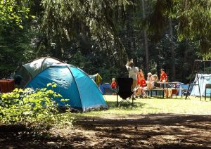Family camping is affordable vacation and great for bonding and well being