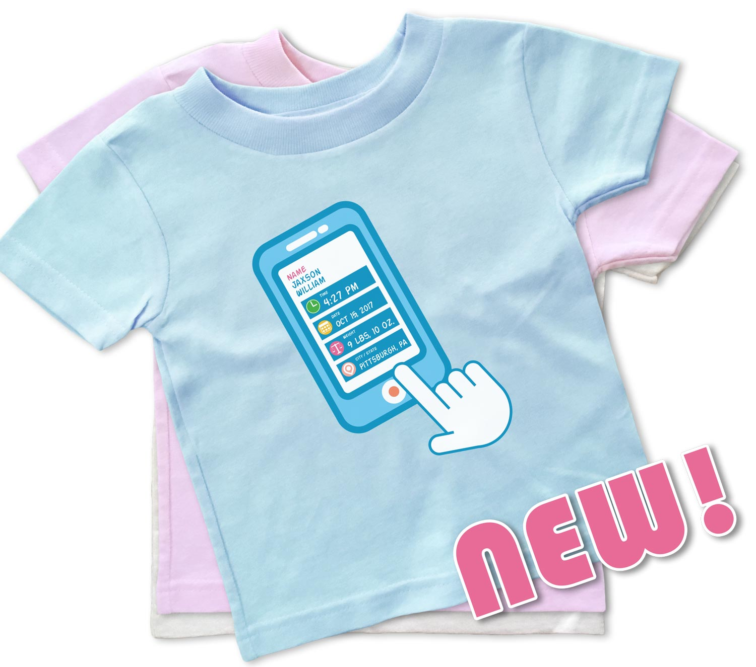 Smart Baby Personalized T Shirts For