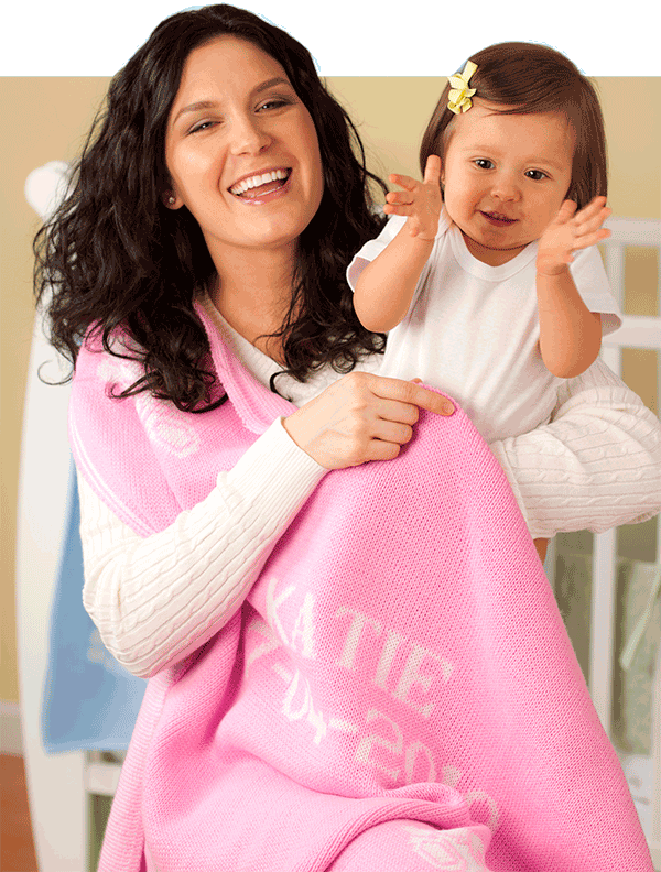 PersonalBabyBlankets.com– the perfect birthday, baby shower and Christmas presents!