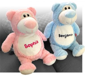 SuperSoft personalized teddy bears